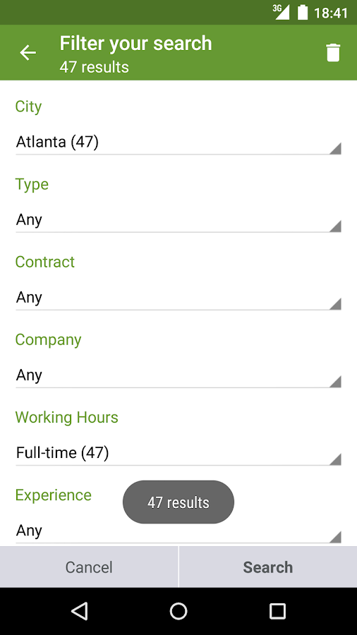 Find job offers - Trovit Jobs Screenshot 2