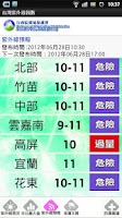 Screenshot of 台灣紫外線指數