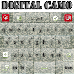 Digital Camo Keyboard 3.12 Apk