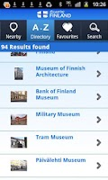 Screenshot of Finland Travel Guide