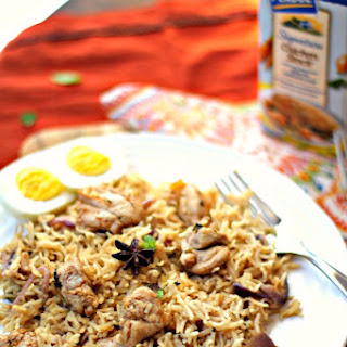 Saffron Chicken Pulao/Pilaf using #Perdue #WeekdaySupper