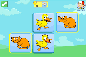 Screenshot of Pipo Animal Memory