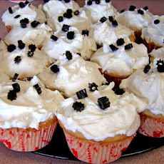Anise/Licorice Cupcakes With Fluffy White Frosting