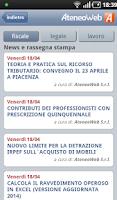Screenshot of AteneoWeb Mobile