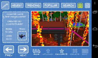 Screenshot of Coaster Frenzy