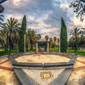 Salerno, Parco del Mercatello HDR by Sabrina Campagna - City,  Street & Park  City Parks ( samyang, parco, fisheye, park, hdr, topaz restyle, architecture, high dynamic range, salerno, city, campania, 8mm, mercatello, italy, colorful, mood factory, vibrant, happiness, January, moods, emotions, inspiration,  )