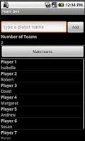 Screenshot of Team Gen
