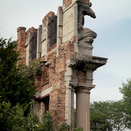 Ruins at Holliday Park, Indianapolis by Lori Rider - Buildings & Architecture Decaying & Abandoned