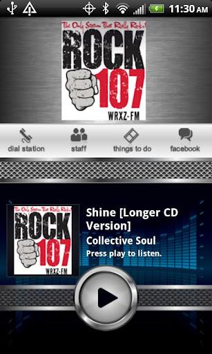 Rock 107 WRXZ-FM