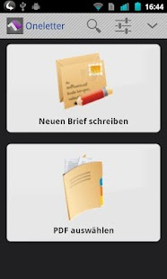 ONELETTER - Briefe verschicken - screenshot