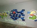 Fische Mural