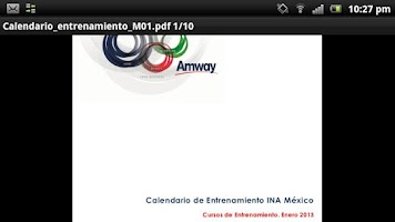 Screenshot of Instituto de Negocios Amway