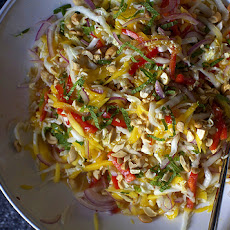 Mango Slaw with Cashews and Mint