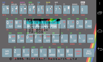 Screenshot of USP - ZX Spectrum Emulator