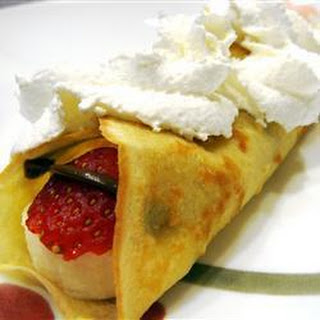 Breakfast Crepes With Eggs Recipes