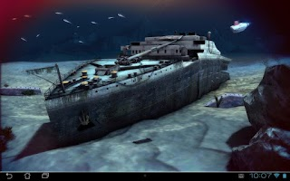 Screenshot of Titanic 3D Pro live wallpaper