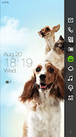 Screenshot of Cute Pets Live Locker Theme