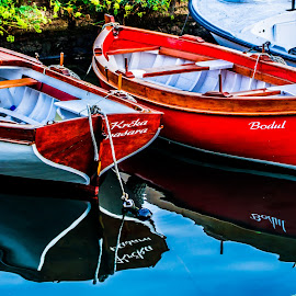 two boats by Eseker RI - Transportation Boats (  )