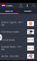 Screenshot of Croatia Radio