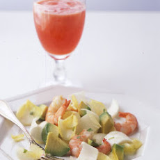 Avocado, Shrimp, and Endive Salad