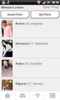 Screenshot of Dating - Ieskok.lt
