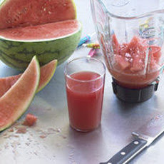 Watermelon Juice with Fleur de Sel Recipe