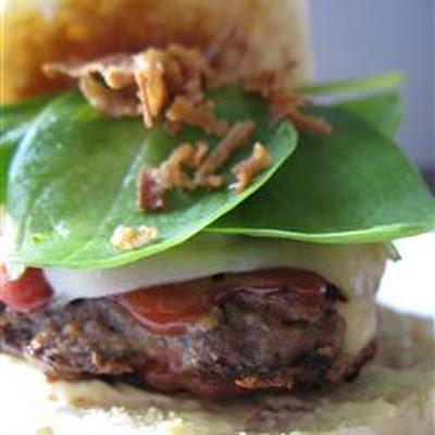 Saucy Herb Hamburgers