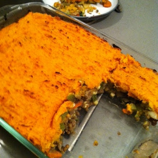 Vegetable and Sweet Potato Shepherds Pie