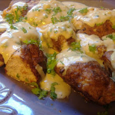 Awesome Paprika Chicken With Creamy Gravy!