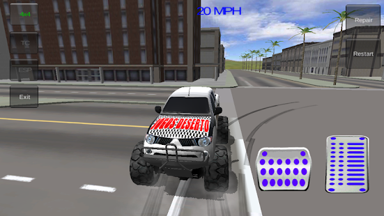 4x4 Monster Truck Extreme - screenshot