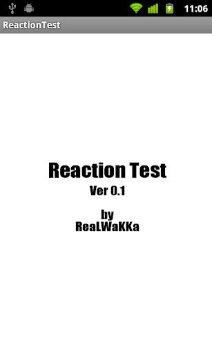 ReactionTest