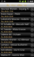 Screenshot of Sport Live Stream