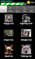 Screenshot of Cat Sounds