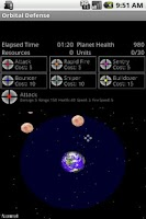 Screenshot of Orbital Defense