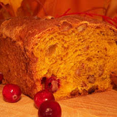 Cranberry-Walnut Pumpkin Loaves