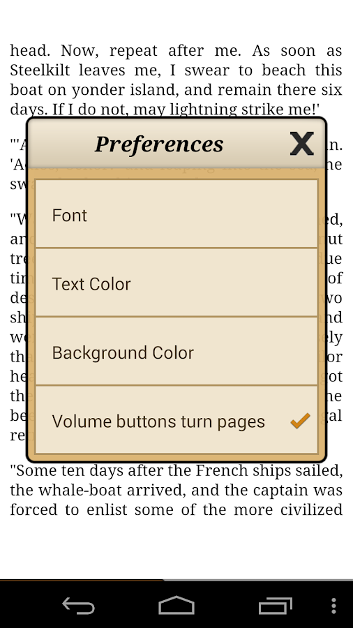 Ebook Reader Screenshot 2