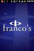 Screenshot of Franco's Athletic Club