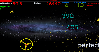Screenshot of Perditus - a Rhythm Game