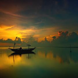 by Dida Melana - Landscapes Cloud Formations ( golden hour, sunset, sunrise )
