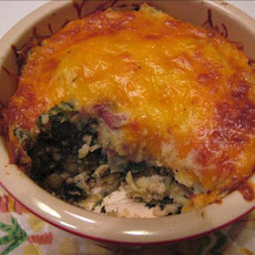 Spinach-Potato Bake