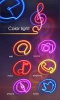 Screenshot of ColorLight GO LauncherEX Theme