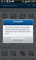 Screenshot of Handcent GroupSMS Plugin 19