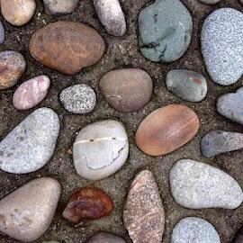 Happy Face by Ernie Kasper - Nature Up Close Rock & Stone ( sand, colourful, nature, happy face, happy, rock, beach, smile )