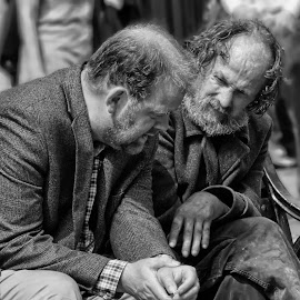 Drinking buddies. by Quentin Robertson - People Portraits of Men