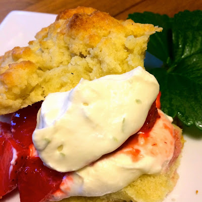 Zesty Strawberry Shortcake