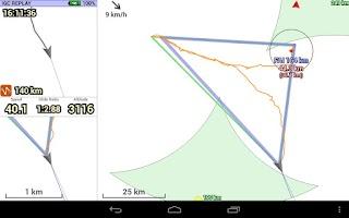 Screenshot of XCTrack