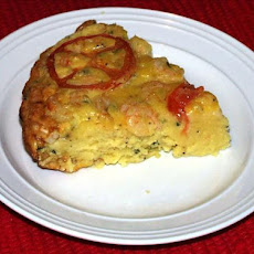 Shrimp and Tomato Quiche