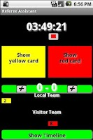 Screenshot of Referee Assistant