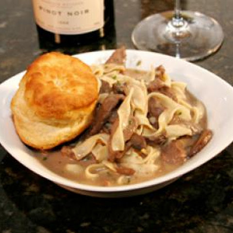 Fast and Easy Beef Stroganoff