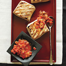 Mahimahi with Bacon-Tomato Butter
